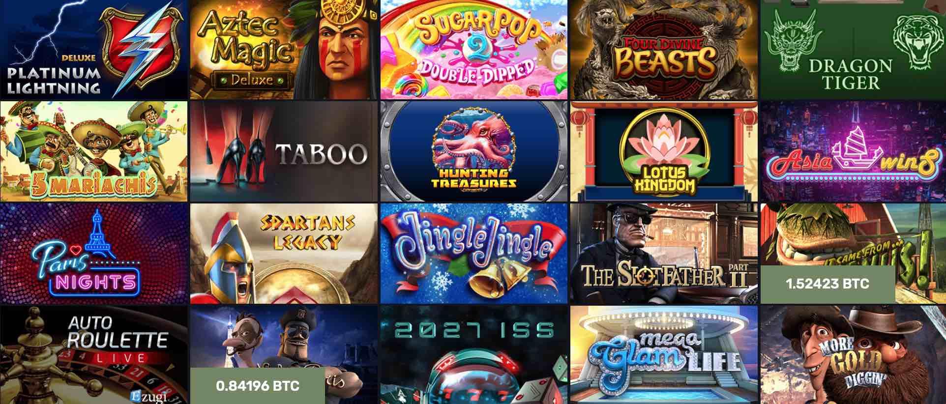 Club vegas casino arcade